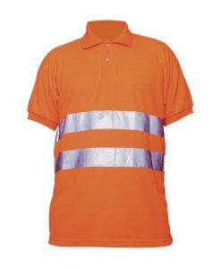 Polo arancione AV