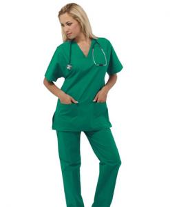 divisa sanitaria verde