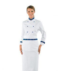 giacca cuoco lady euro