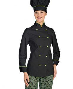 giacca lady extra light nera prof verde