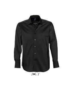 camicia uomo brighton nera AVANTI
