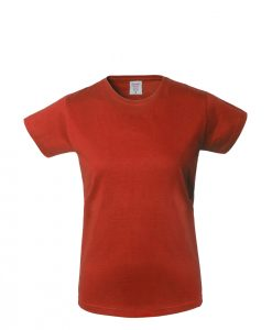 t-shirt donna rosso