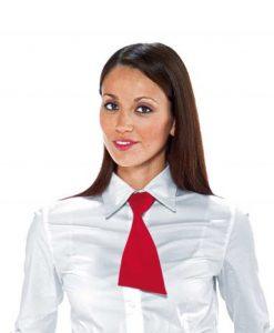 cravattino rosso