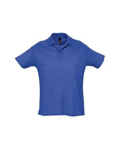 polo uomo  fronte - royal