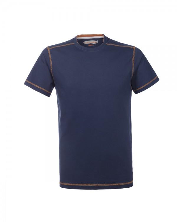 t-shirt lazy blu