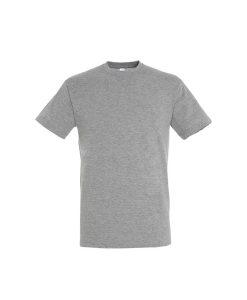 t-shirt uomo fronte - grigio medio melange