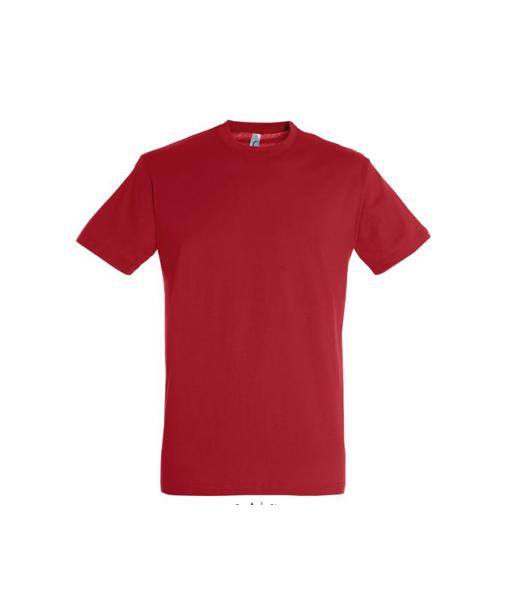 t-shirt uomo fronte - rosso