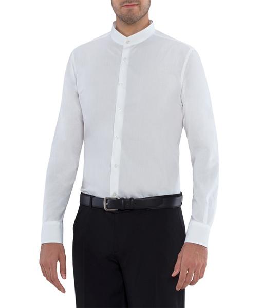 camicia novak bianca