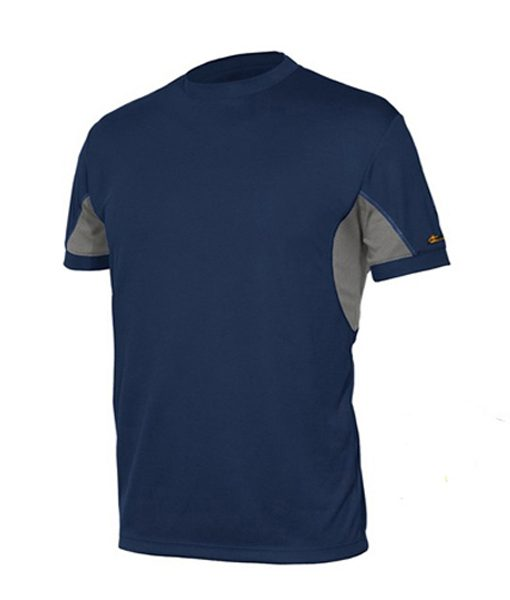 t-shirt extreme blu