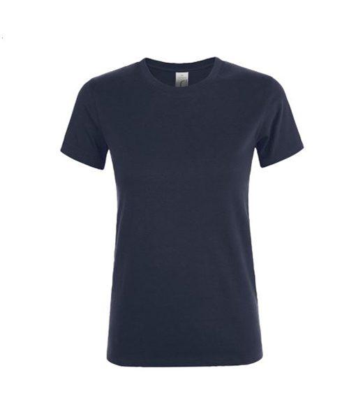 t-shirt donna blu - fronte