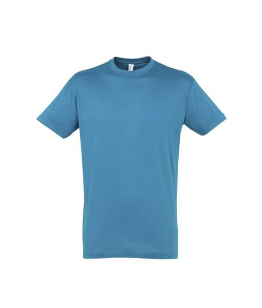 t-shirt uomo fronte - acqua