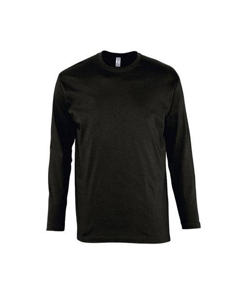 t-shirt uomo m-lunga fronte - nero