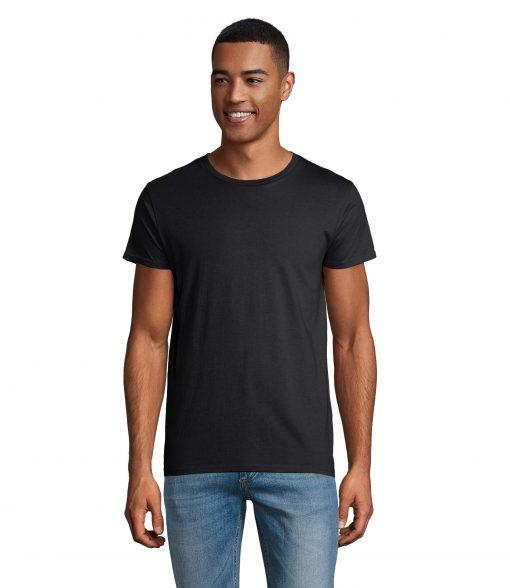 t-shirt uomo fronte - grigio topo