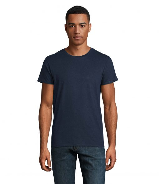 t-shirt uomo fronte - denim