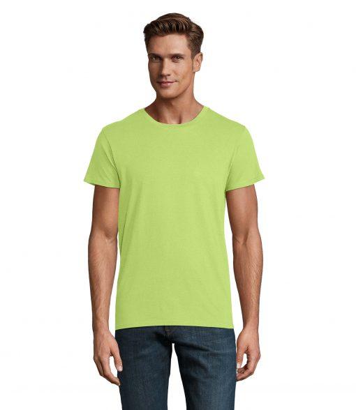 t-shirt uomo fronte - verde mela